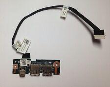Dell Vostro 1510 Dual USB Port Board And Cable 0F2340 0P984D