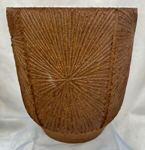 Vintage David Cressey Robert Maxwell Earthgender Planter Architectural Pottery