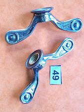 écrous papillon COP 9.5mm hub wing nuts road bike vintage l'éroica:herse terrot