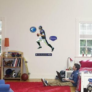 "Joe Flacco FATHEAD Junior 2'8"" x 1'11"" + Name Sign NFL Ravens Wall Graphics"