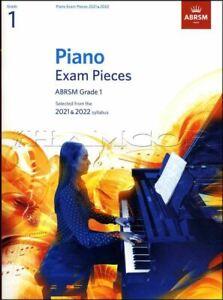 Piano Exam Pieces 2021-2022 ABRSM Grade 1 Sheet Music Book SAME DAY DISPATCH
