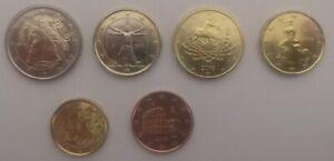 #RM# 6 COINS 5 CENT - 2EURO ITALIE 2019 UNC
