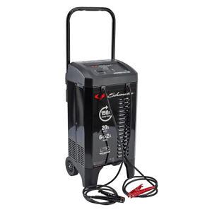 Schumacher SC-1364 2 Amp/12V Wheeled Automatic Battery Charger/Engine Starter