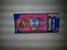 "Disney Fisher Price My First Princess Cinderella 3.5"" Doll MINT NIB"