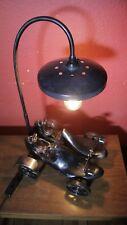 Bespoke Custom lamp-Steam punk,goth,fetish,rover,motor racing,vintage,antique