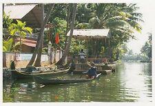 (82112) Postcard India Kerala Backwaters Boat #9 - un-posted