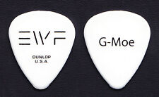 "Earth, Wind & Fire Greg ""G-Moe"" Moore Signature White Guitar Pick - 2012 Tour"