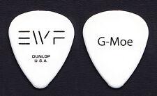 "Earth, Wind & Fire Greg ""G-Moe"" Moore Signature White Guitar Pick - 2012 Tour"
