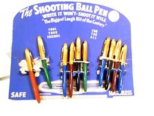 "Shooting Ball Pen Counter Top Display-""Write it Won't Shoot it Will"" by Windsor"