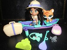 "Littlest Pet shop Blythe B35 "" Stylin ' Safari "" Petshop # Chat Cat 2332"