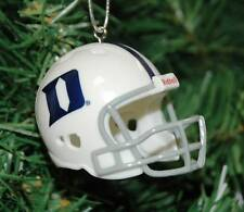 Duke Blue Devils Football Helmet Christmas Ornament