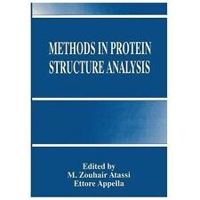 Methoden in Proteinstruktur Analyse: durch Atassi, m. Zouhair APPELLA Ettore