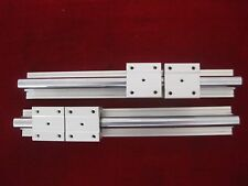 12mm linear slide guide shaft SBR12-500mm 2 rail+4 SBR12UU bearing block CNC set