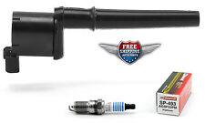 Set of 1 Ignition Coil DG512 DG543 UF191 + 1 Motorcraft Spark Plug SP493