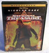 National Treasure (DVD, 2005, Widescreen) Nicolas Cage, Sean Bean, Justin Bartha