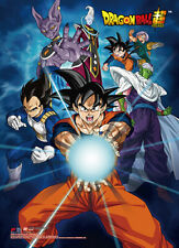 Dragonball Z Super Group Wall Scroll Poster Anime Manga NEW
