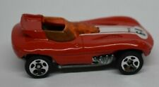 Vintage Hot Wheels 1998 First Editions Cat-a-pult Racing #64 on Hood