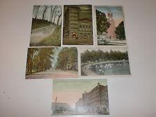 Lot of 6 Postcards 1911 Watertown NY St Patrick's Washington St Wading Park More