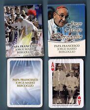 n. 54 CARTE DA GIOCO Immagini-pictures PAPA FRANCESCO J. M. Bergoglio (Modiano)