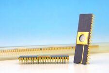 1x C8751H Intel Gold Ceramic MCS51 8-BIT CONTROL ORIENTED MICROCONTROLLER IC