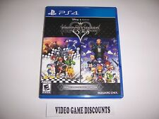 Original Box Case Replacement Sony PlayStation 4 PS4 KINGDOM HEARTS HD 1.5 + 2.5