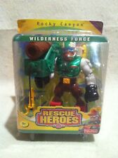 Rescue Heroes Wilderness Force  Rocky Canyon Factory Sealed! Mountain Ranger!