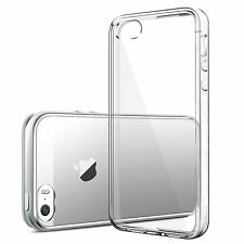 For iPhone SE Case Crystal Clear Rubber Shockproof Protective iPhone 5 5s Cover