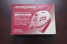 Sega Saturn SS HSS-0137 Official White 3D Controller Multi Pad boxed US Seller