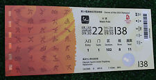 Ticket collectors Olympic Beijing 2008 Waterpolo Australia Italy China Canada