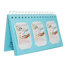Fuji Instax Photo Album 60 Inserts Blue for Fujifilm Mini Film 7S 8 9 25 50S 90
