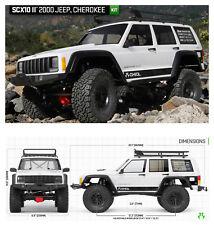 Axial Scx 10 II Jeep Cherokee 4wd 1/10 Kit Auto RC AX90046