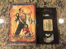MUCHO MACHO MACHO TIO aka 5 POLLAS EN PELIGRO RARE BIG BOX CLAMSHELL VHS SPANISH