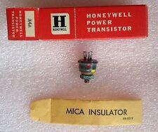 Rare Vintage H4A Honeywell Germanium Power Transistor in Original Box NIB = 2N57