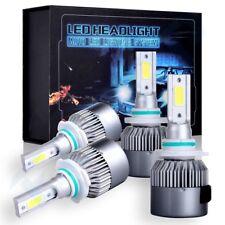 4Pcs 9006 9005 LED Headlights Kit 320W High Low Beam Bulbs For Chevy Silverado