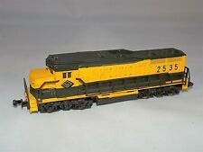 N SCALE Lima 4254 Reading RR GP-30 Diesel Locomotive Engine #2535