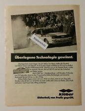 Werbeanzeige/advertisement A4: Kléber 23. Rallye San Remo 1981 (12041620)