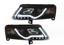 Audi A6 4F2 4F5, C6 Bj04-08 Set Xenon Scheinwerfer TUBE LIGHTS mit TFL-Leiste