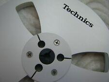 "NEW Technics Reel 7"" LIGHT METAL REEL 1/4"" Tape Anodized Aluminum Made in US"