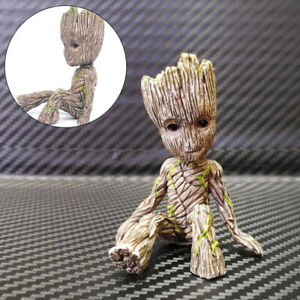 6CM Guardians of The Galaxy Baby Groot Figure Flowerpot Pen Pot Toy Gifts New