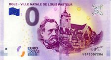 39 DOLE Ville natale de Louis Pasteur, 2019, Billet 0 € Souvenir