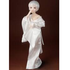 """[Dollmore] 17"""" 1/4 BJD dress MSD - Night Single Layer Kimono (White)"""