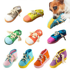 New listing Creative Shoe Shape Sound Molar Doll Dog Cat Interactive Chew Toys Pet Supply