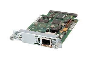 Genuine Cisco VWIC2-1MFT-T1/E1 w/ Hologram Voice WAN Interface Card