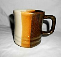 Brown Coffee Mug Free Shipping Vintage Stone Ware Multi Color