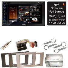 XZENT X-402 Bluetooth USB CD Navigation Einbauset für Ford Focus C-Max Fiesta Tr