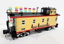 MTH 30-77333  Akron Barberton Belt Offset Steel Caboose near scale proportions