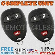 2 For 2005 2006 2007 2008 2009 Pontiac Montana 3b Keyless Entry Remote Key Fob