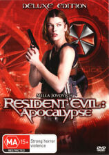 Resident Evil: Apocalypse (Deluxe Edition) (DVD, 2008) R4 PAL EXCELLENT COND