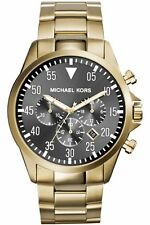 Michael Kors Gold Plated Case Men's Wristwatches