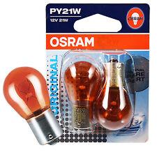 OSRAM PY21W Blinklicht orange 12V Original Line 2Stück Premium-Qualität 7507-02B